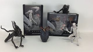 FIRST IN HAND LOOK at NECA's Alien: Covenant Neomorph, Xenomorph, and Creature Pack