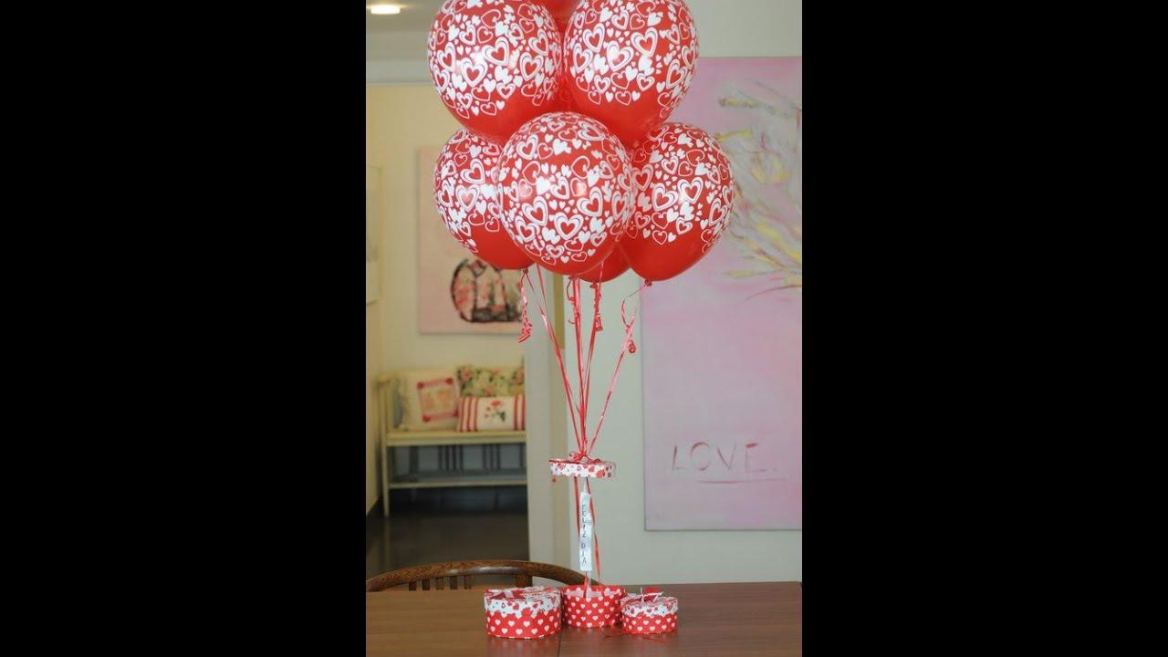 Como hacer centros de mesa con globos maricel merigo - Centros de mesa con globos ...