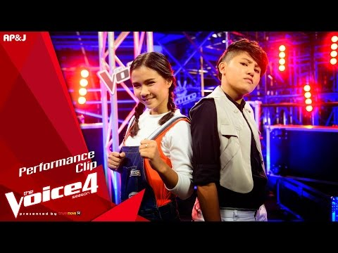 The Voice Thailand - พลอยไพลิน VS พลอยไพลิน - ผู้หญิงลั้ลลา - 8 Nov 2015