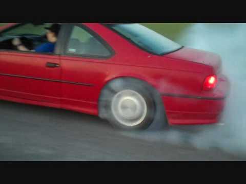 1992 Thunderbird Supercoupe Burnout Youtube