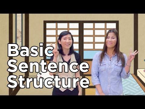 Uki Uki Japanese Lesson 17 - Basic Sentence Structure
