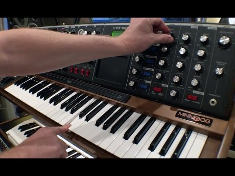 MOOG Voyager - Gear of the Week (Junkie XL)