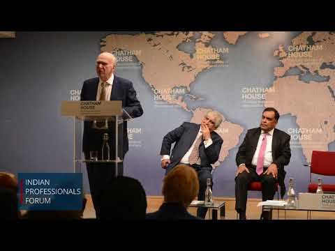 Sir Vince Cable on the India-UK Relationship Post-Brexit