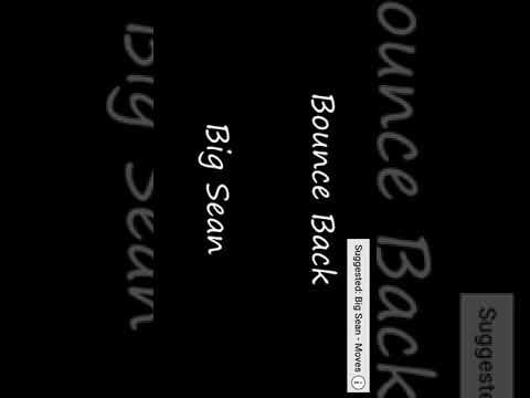 Bounce back lyrics