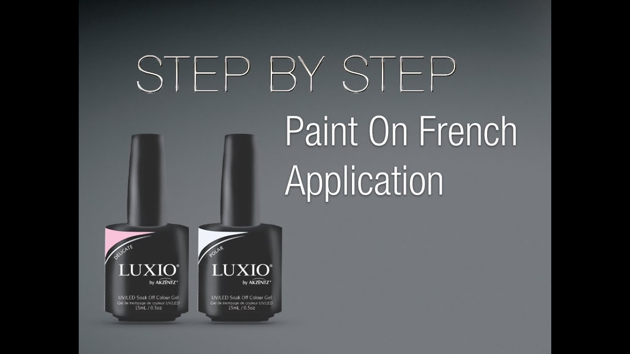 Luxio Paint on French Application - YouTube