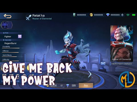 Mobile Legends : Ideas : Retak'ka The Master Of Elemental