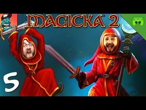 MAGICKA 2 # 5 - Wir sind Idioten «» Let's Play Magicka 2 Together | Full HD Gameplay