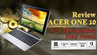 Review Acer One 10 : Convertible Gadget Terjangkau dengan Baytrail Quad Core
