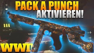 PACK A PUNCH auf THE FINAL REICH aktivieren! Call of Duty WWII Zombies
