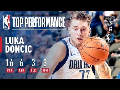 Luka Doncic Makes His Preseason Debut With Dallas Mavericks!