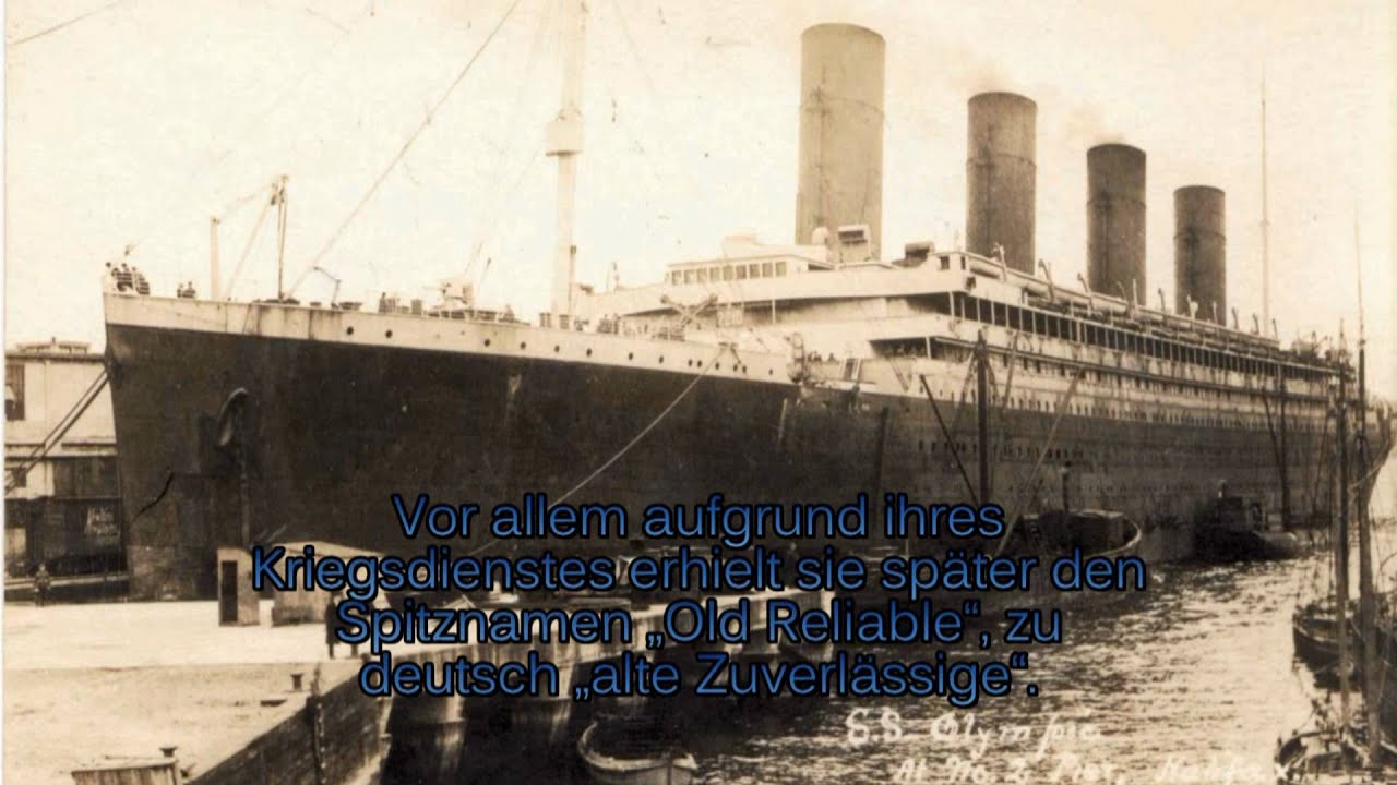 York Rms New Olympic