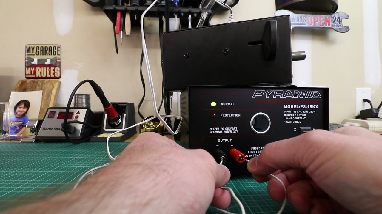 Liftmaster Power Lock Voltage Requirement Testing Youtube