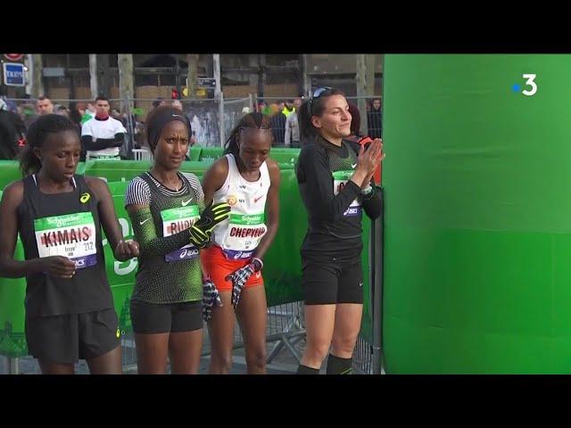 Marathon de Paris : revivez l'édition 2019, avec un record de France pour Clémence Calvin
