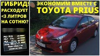 Toyota Prius - экономим в городе по-максимуму!