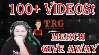 CHANNEL UPDATE!!! 100+ VIDEOS - MERCH GIVEAWAY!!