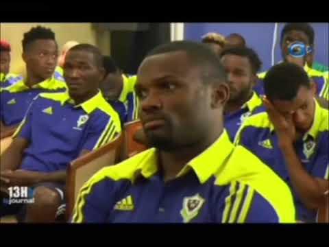 Le ministre des sports échange avec les panthères du Gabon après les défaites contre les éléph