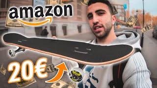 Probando el SKATE MÁS BARATO de Amazon!