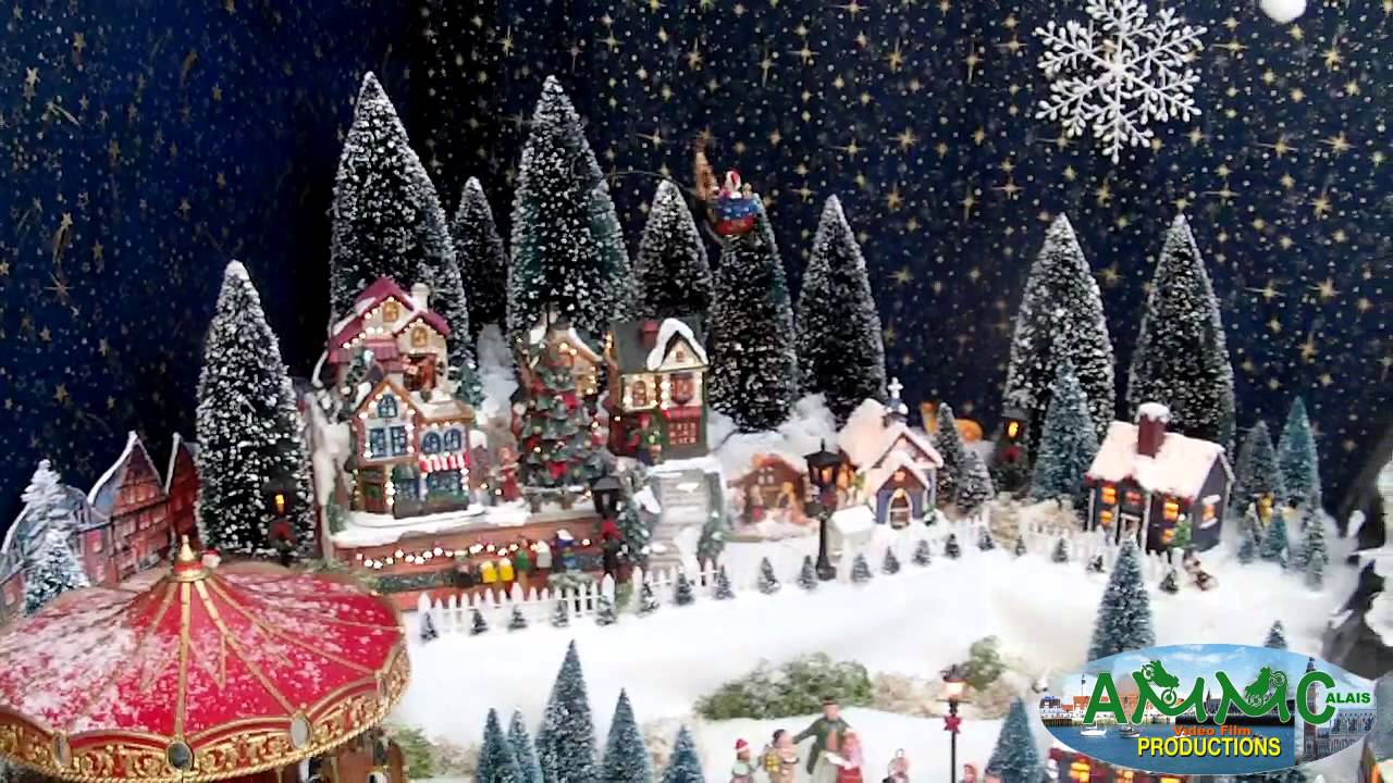 village de noel miniature my blog. Black Bedroom Furniture Sets. Home Design Ideas