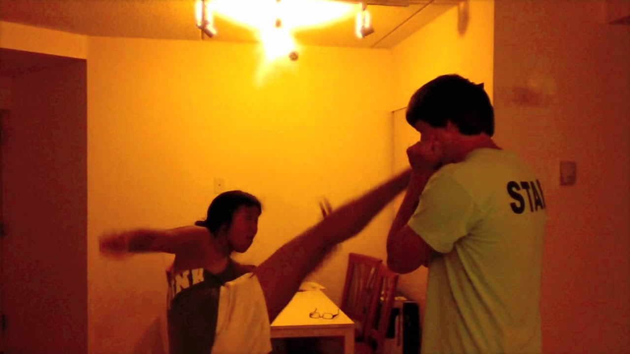 image Foot karate with my roommate gay domination