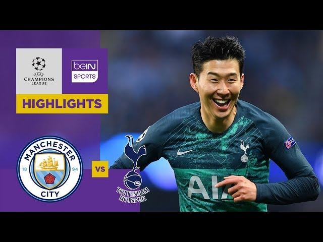 Manchester City 4-3  Tottenham | Champions League Highlights