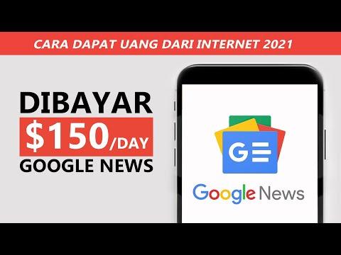 Cara Mendapatkan Uang Dari Internet Menggunakan Google News