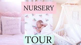 BABY GIRL NURSERY TOUR & DIY ORGANIZATION IDEAS