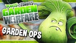 Прохождение Растения против Зомби: Садовая Война - Garden Ops 1 Crash Course с Настей