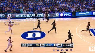 Top Plays: Duke 81, Pitt 54 (1/20/18)
