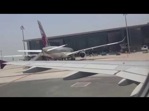 Qatar Airways Landing At HIA Doha From Sialkot HD-2