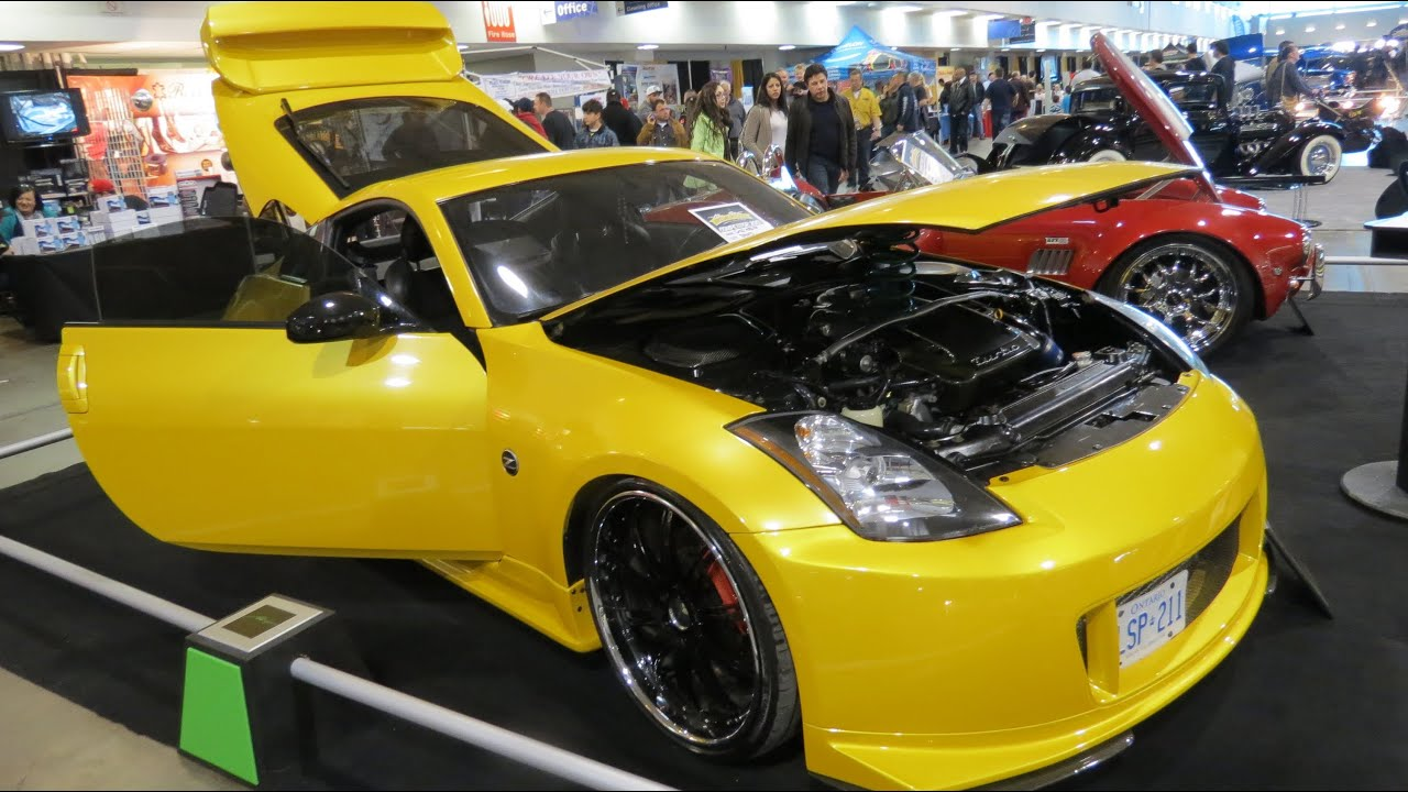 2004 Nissan 350z Custom At 2013 Megaspeed Show Youtube