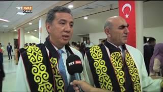 Kırgızistan Türkiye Manas Üniversitesi 15. Dönem Mezunları - Devrialem - TRT Avaz