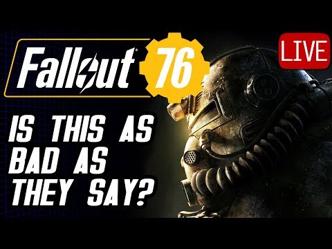 Fallout 76 Walkthrough #1 Is This Game Any Good? #Fallout76 thumbnail