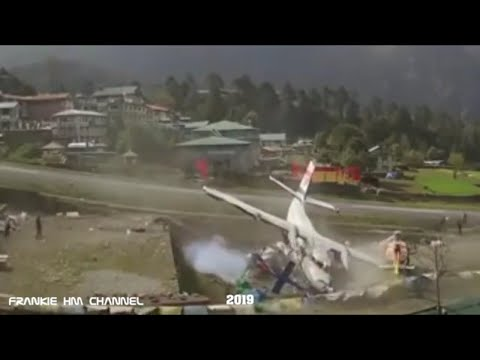 Lukla Airport | Dangerous airport compilation | Bad days at work | Airplane crash compilation