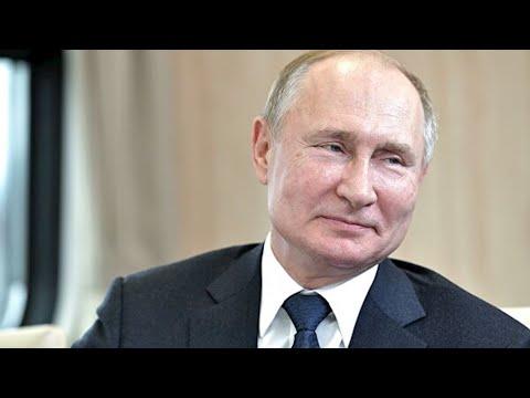 Опубликованы архивные кадры к 20летию Путина у власти