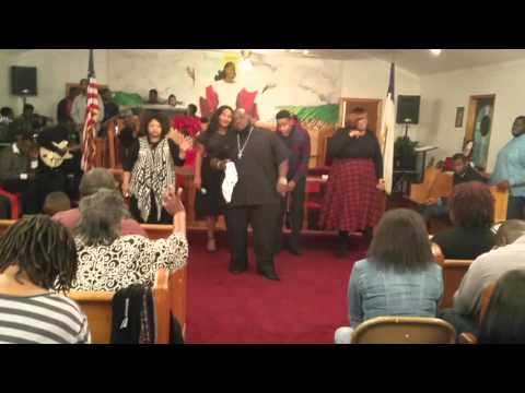 Jarell Smalls and Company going old school Church