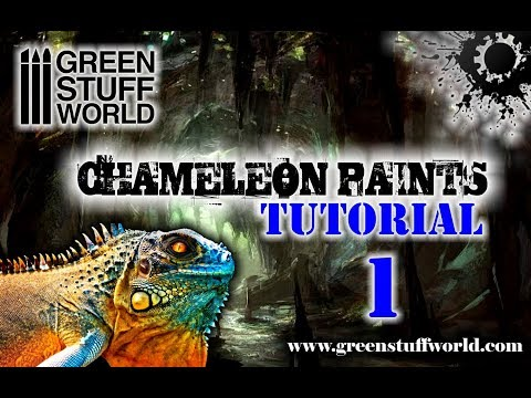 Chameleon Paints Tutorial 1 - Our Colors (English)