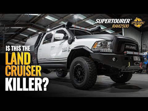 Is This The LandCruiser killer? - Ram Trucks RT25 Supertourer