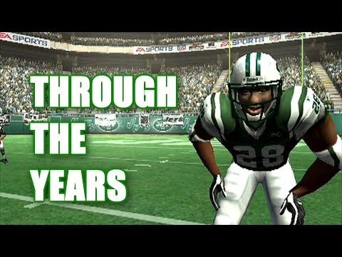 CURTIS MARTIN THROUGH THE YEARS! MADDEN 97 - MADDEN 06