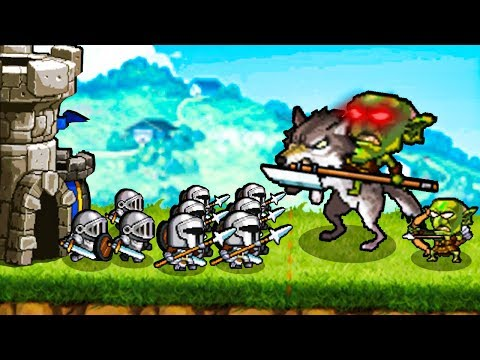 Defending Our Castle From A Massive Goblin Boss In Kingdom Wars!