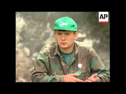 BOSNIA: SARAJEVO: WAR INVALIDS RESORT TO BEGGING TO SURVIVE