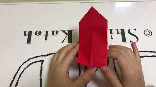 리본만들기-종이접기