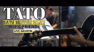 satu senyum saja - TATO ( LIVE cover ) OneFriends AKUSTIK