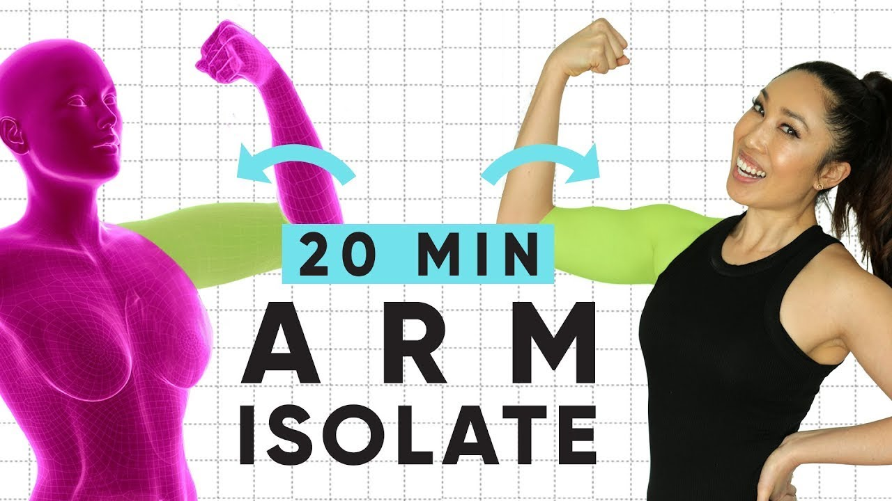 dba7263947 20 Minute Weightless Arm Isolate Workout