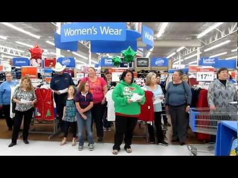WalMart Christmas Flash Mob 001