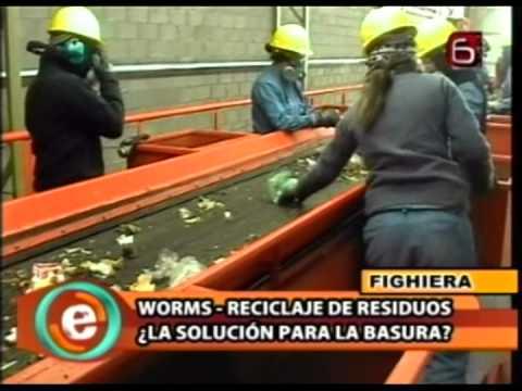 Planta de Reciclado de Residuos Solidos Urbanos Fighiera