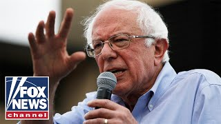 Bernie scoffs at question about limiting his air travel