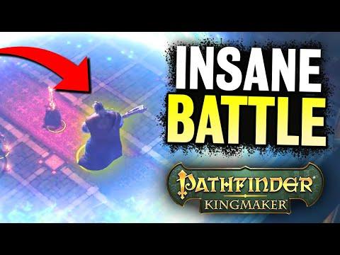 THIS BATTLE WAS INTENSE in Pathfinder: Kingmaker |