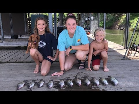 Crappie Catch and Cook!