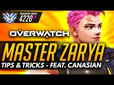 Overwatch | Master Zarya - Tips and Tricks (ft CANAS1AN)