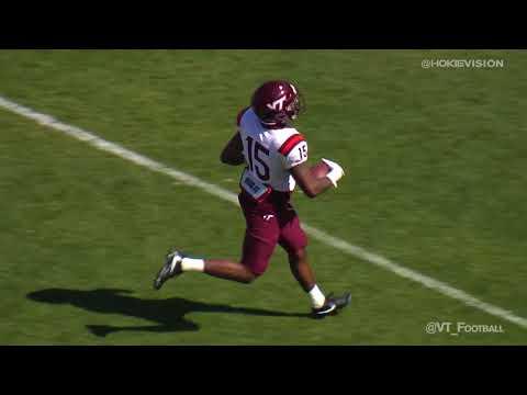 Virginia Tech Spring Game Highlights